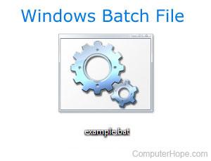 Какие команды доступны в пакетном файле?