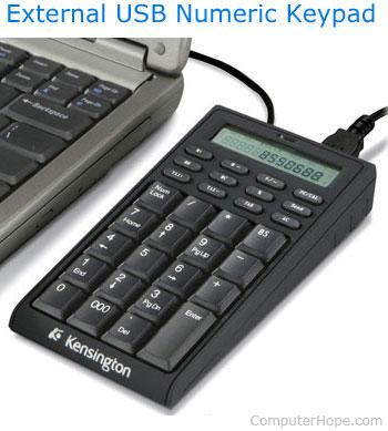 Внешняя клавиатура USB