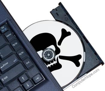 Использование пиратского программного обеспечения