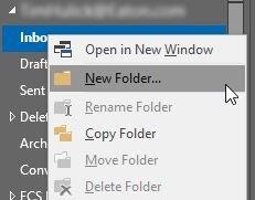 Создать новую папку в папке
