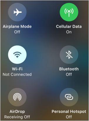 Варианты Wi-Fi на iOS